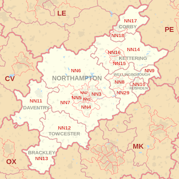 northamptonshire-ground-rent-sales-map